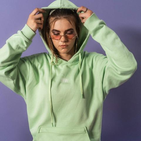 Coral Mint Hoodie von Green Berlin - Kapuzenpullover jetzt im Bravado Store