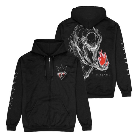 √Come Clarity Injured von In Flames - Hooded jacket jetzt im Bravado Shop