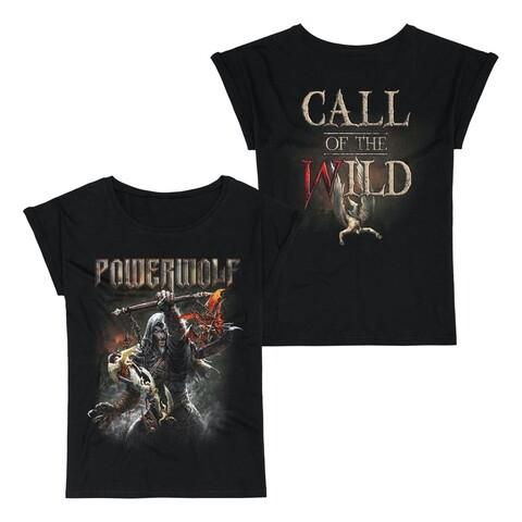 √Call Of The Wild von Powerwolf - Girlie Shirt jetzt im Bravado Shop