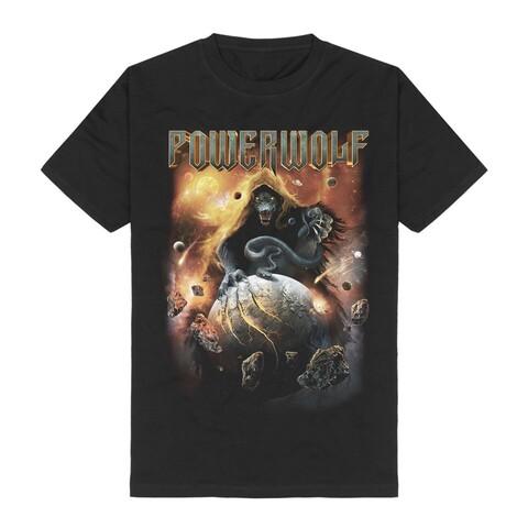 √Wolves Against The World von Powerwolf - T-shirt jetzt im Bravado Shop