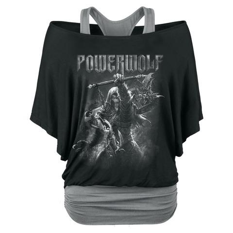 √Call Of The Wild von Powerwolf - Girlie Double Layer Shirt jetzt im Bravado Shop