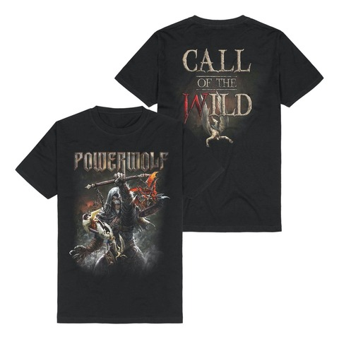 Call Of The Wild von Powerwolf - T-Shirt jetzt im Bravado Shop