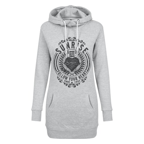 √Follow Your Heart 2021 von Sunrise Avenue - Long Girl Hoodie jetzt im Bravado Shop