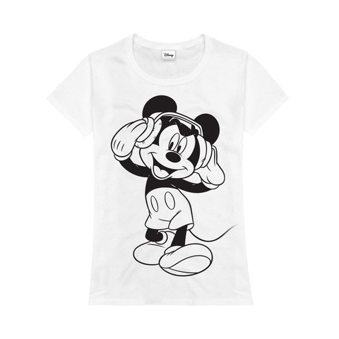 Mickey - Headphones von Disney - Kinder Shirt Mädchen jetzt im Bravado Store