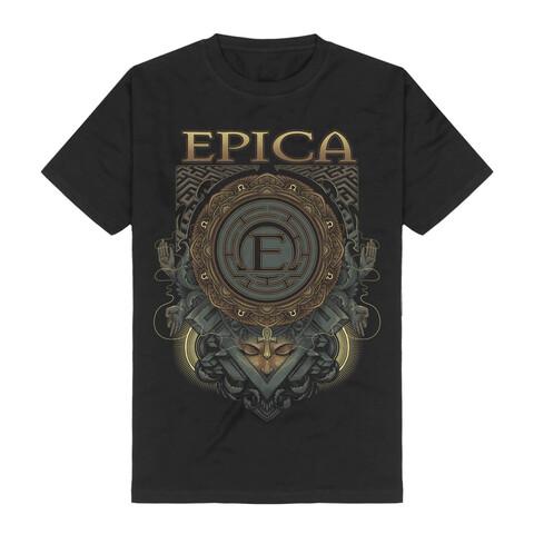 Centered von Epica - T-Shirt jetzt im Bravado Shop