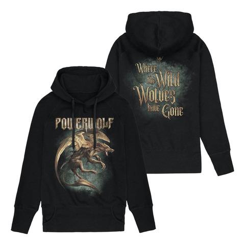 √Where The Wild Wolves Have Gone von Powerwolf - Girlie hooded sweater jetzt im Bravado Shop