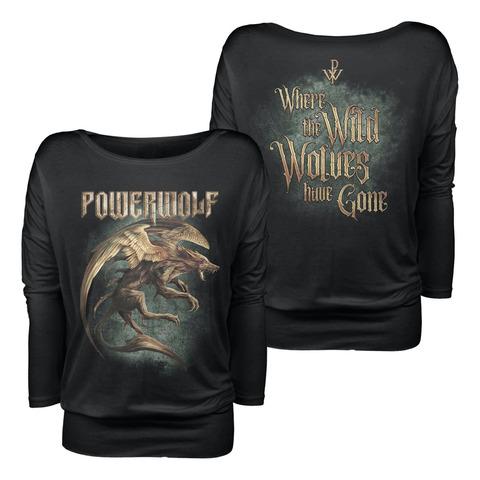 √Where The Wild Wolves Have Gone von Powerwolf - Girlie long-sleeve jetzt im Bravado Shop