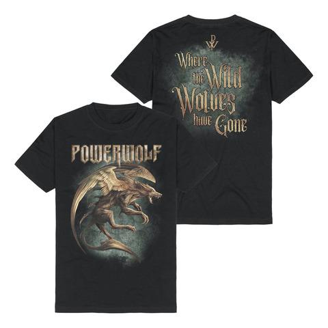 √Where The Wild Wolves Have Gone von Powerwolf - T-shirt jetzt im Bravado Shop