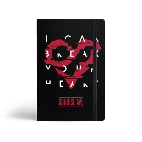 I Can Break Your Heart von Sunrise Avenue - Notebook jetzt im Bravado Shop