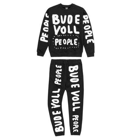 √Bude Voll People von Deichkind - Jogging suit jetzt im Bravado Shop
