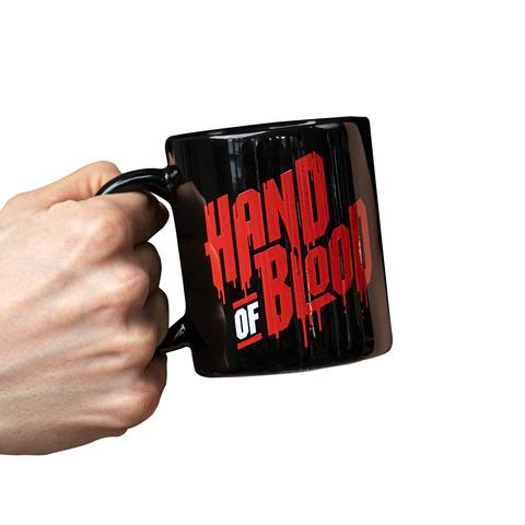 HandOfBlood Typo Logo von HandOfBlood - Tasse jetzt im Bravado Shop