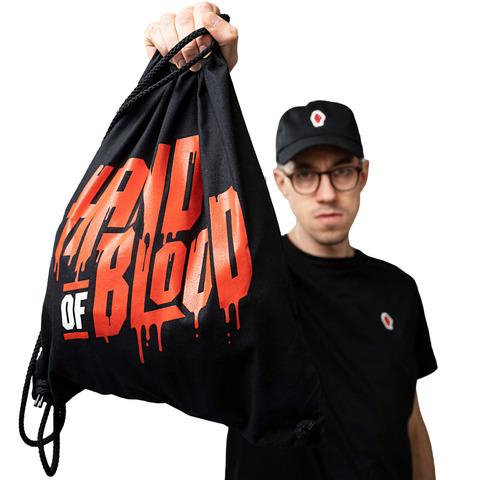 HandOfBlood Typo Logo von HandOfBlood - Gym Bag jetzt im Bravado Shop