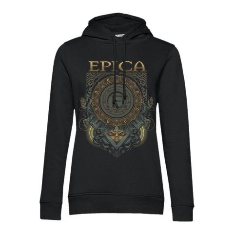 Centered von Epica - Girlie Kapuzenpullover jetzt im Bravado Shop