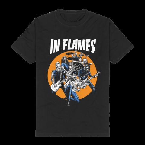 √Zombieband von In Flames - T-Shirt jetzt im Bravado Shop