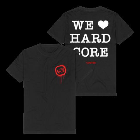 &radic;We <3 Hardcore von Scooter - T-Shirt jetzt im Bravado Shop