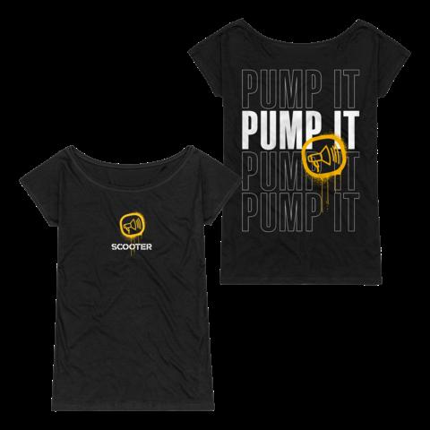 √Pump It von Scooter - Girlie Shirt jetzt im Bravado Shop