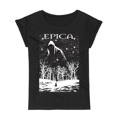 √Dark Forest von Epica - Girlie Shirt Roll Up Sleeves jetzt im Bravado Shop