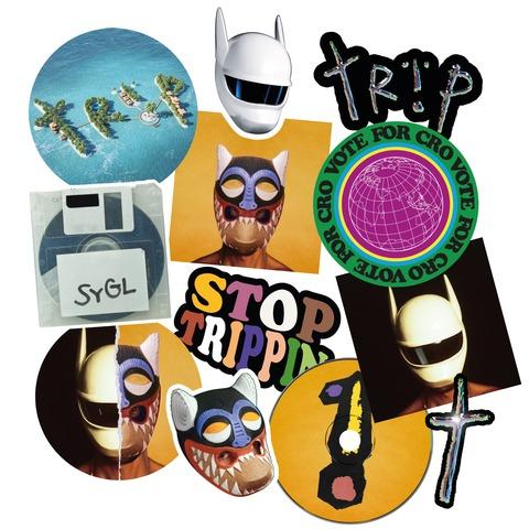 √Trip I - Sticker Set 12 Piece von CRO - Sticker jetzt im Bravado Shop
