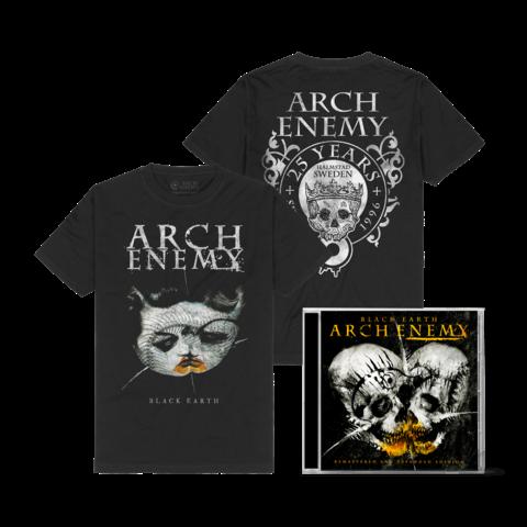 Black Earth Bundle von Arch Enemy - 2CD + T-Shirt jetzt im Bravado Store