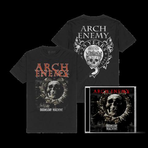 Doomsday Machine Bundle von Arch Enemy - 1CD + T-Shirt jetzt im Bravado Store