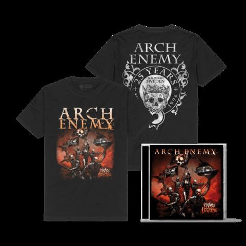 Khaos Legions Bundle von Arch Enemy - 1CD + T-Shirt jetzt im Bravado Store