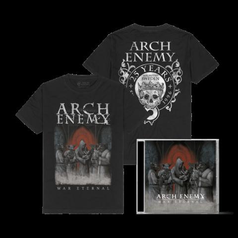 War Eternal Bundle von Arch Enemy - 1CD + T-Shirt jetzt im Bravado Store