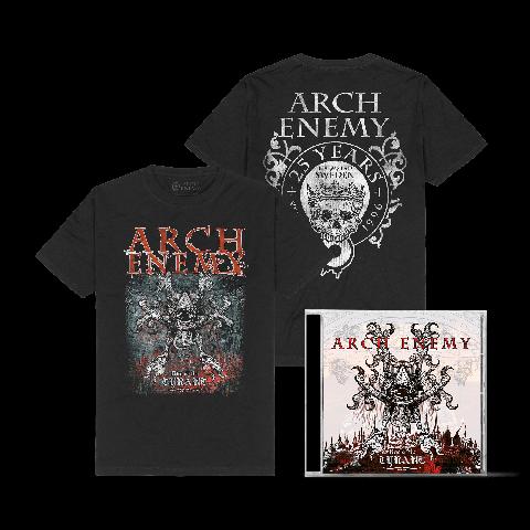 Rise Of Tyrant Bundle von Arch Enemy - 1CD + T-Shirt jetzt im Bravado Store