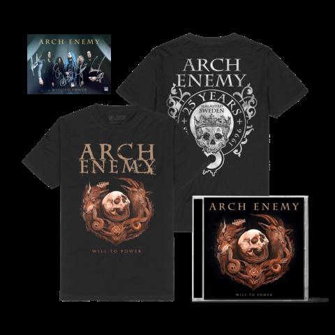 Will To Power Bundle von Arch Enemy - 1CD + T-Shirt jetzt im Bravado Store