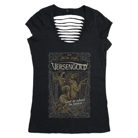 Die wilde Jagd von Versengold - Girlie Shirt jetzt im Bravado Shop