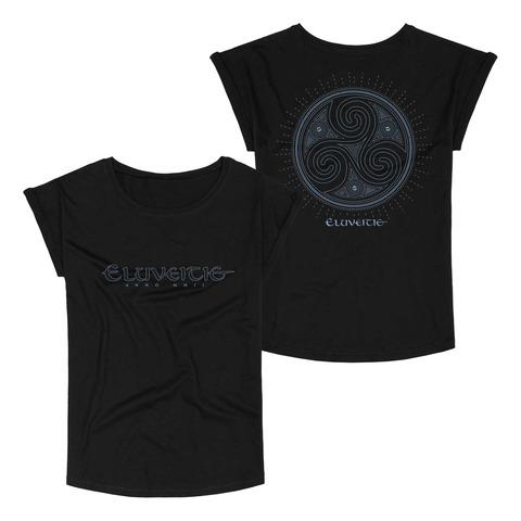 Triskel von Eluveitie - Girlie Shirt jetzt im Bravado Store