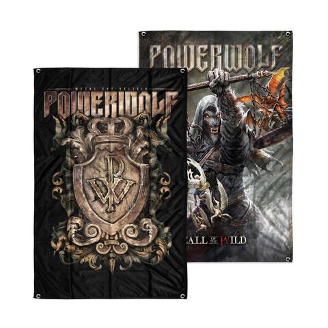 Call Of The Wild / Crest von Powerwolf - Wendeflagge jetzt im Bravado Store