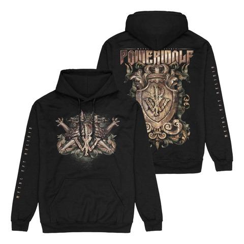 Metal Est Religio Crest von Powerwolf - Kapuzenpullover jetzt im Bravado Shop