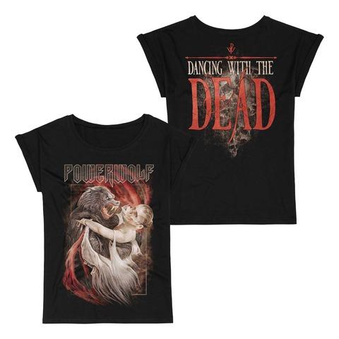 Dancing With The Dead von Powerwolf - Girlie Shirt mit Roll Up jetzt im Bravado Store