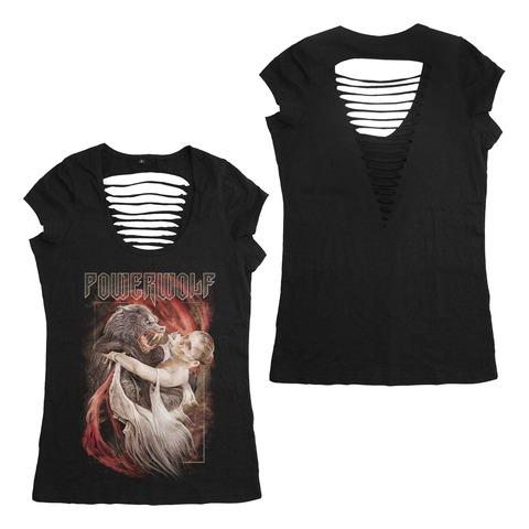 Dancing With The Dead von Powerwolf - Girlie Shirt Cut Back jetzt im Bravado Store