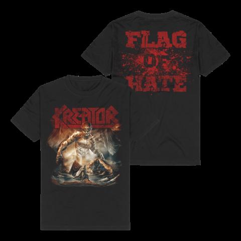 Flag Of Hate von Kreator - T-Shirt jetzt im Bravado Store
