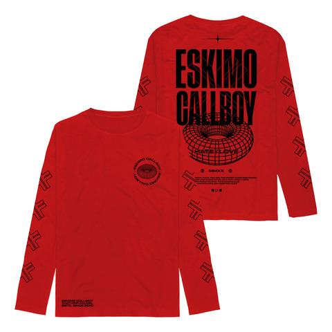MMXX Hate Love von Eskimo Callboy - Longsleeve jetzt im Bravado Shop