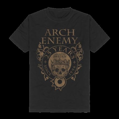 25 Years Crest von Arch Enemy - T-Shirt jetzt im Bravado Store