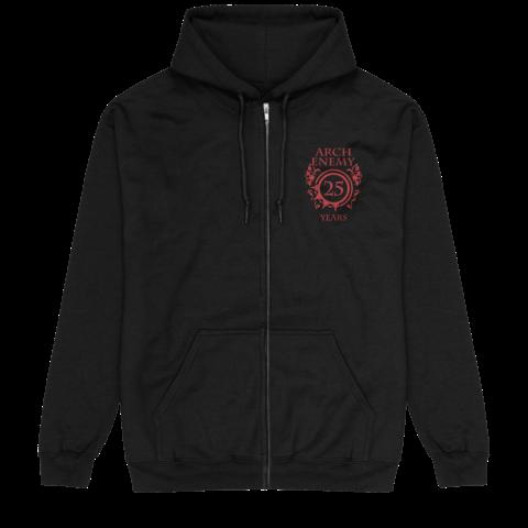 25 Years Pocket Crest von Arch Enemy - Kapuzenjacke jetzt im Bravado Store