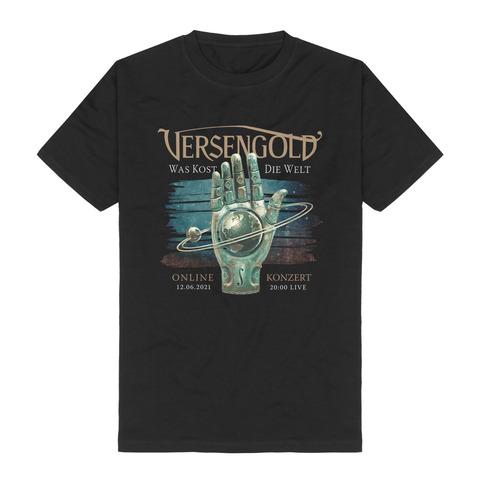 Was kost die Welt - Onlinekonzert von Versengold - T-Shirt jetzt im Bravado Shop
