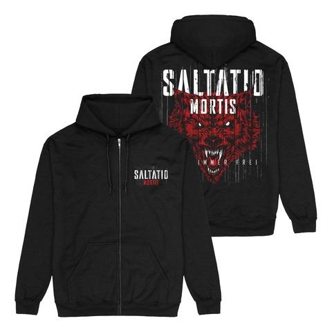 Für immer frei Wolf von Saltatio Mortis - Kapuzenjacke jetzt im Bravado Shop