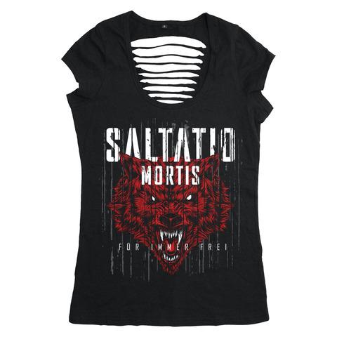 Für immer frei Wolf von Saltatio Mortis - Girlie Shirt jetzt im Bravado Shop