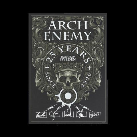 25 Years von Arch Enemy - Siebdruckposter jetzt im Bravado Store