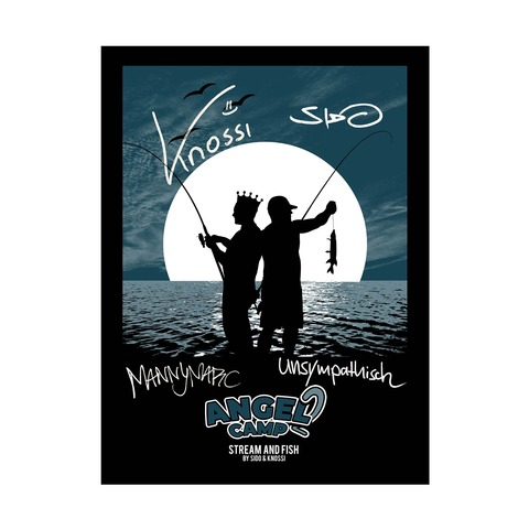 Angel Camp 2 von Sido - Siebdruckposter limitiert jetzt im Bravado Store