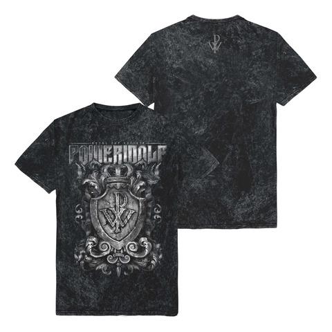 Crest Vintage Tee von Powerwolf - T-Shirt jetzt im Bravado Store
