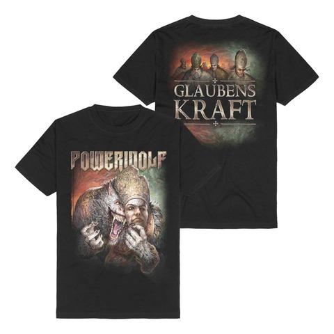 Glaubenskraft von Powerwolf - T-Shirt jetzt im Bravado Store