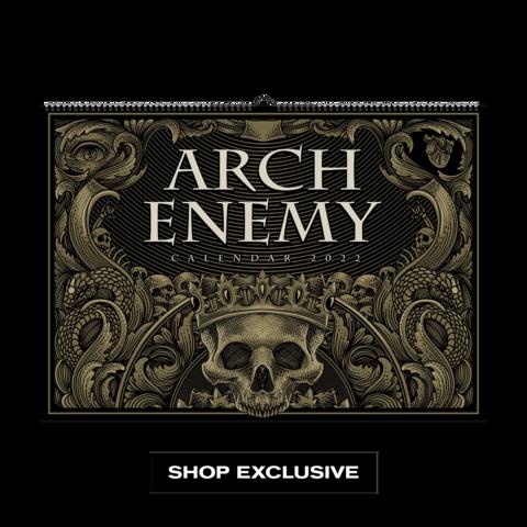 Arch Enemy Calendar 2022 von Arch Enemy - Kalender jetzt im Bravado Store