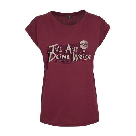 Lyric Shirt - Tus auf deine Weise von Pur - Girlie Shirt jetzt im Bravado Store