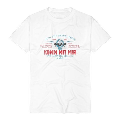Lyric Shirt - Komm mit mir von Pur - T-Shirt jetzt im Bravado Store