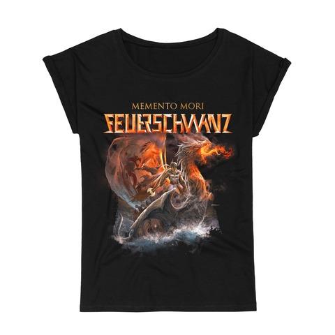 Memento Mori Cover von Feuerschwanz - Girlie Shirt jetzt im Bravado Store