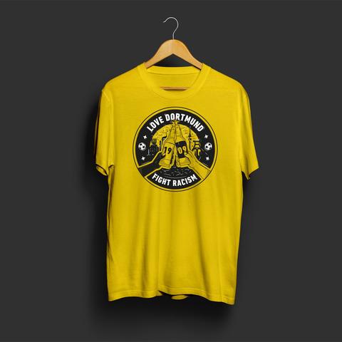 Fight Racism von Schwatzgelb - T-Shirt jetzt im Bravado Store